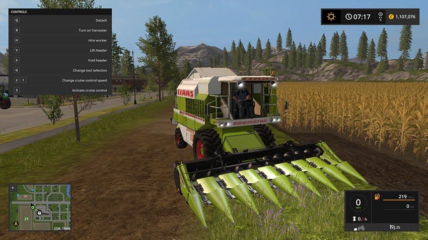 Claas Dominator 118 SL v 1.1
