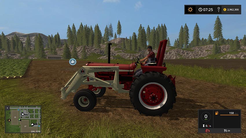 Farmall 806 TRACTORs v 1.0