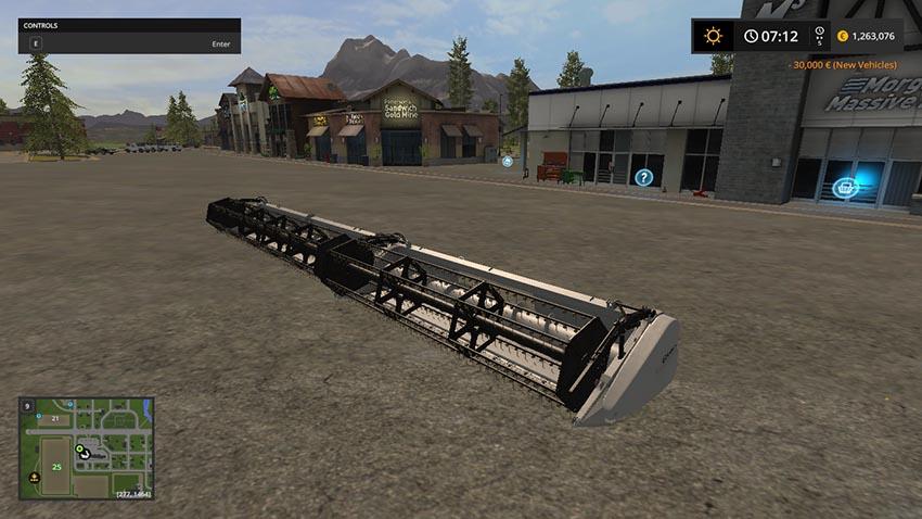 Gleaner 18 and 25 Grain Header V 1.0