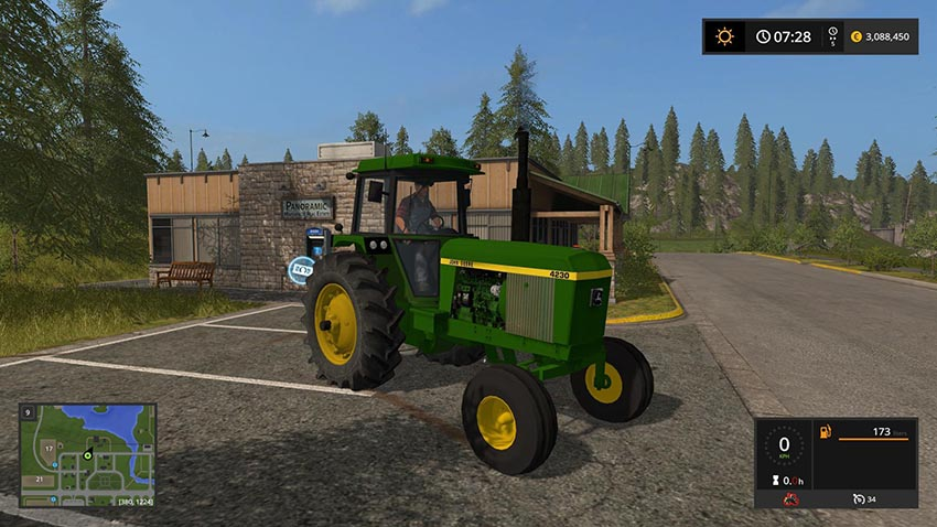 JD 30 Series 2WD TRACTOR v 1.0