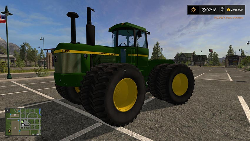 JD 8000 Series Articulated 4WD v 1.0