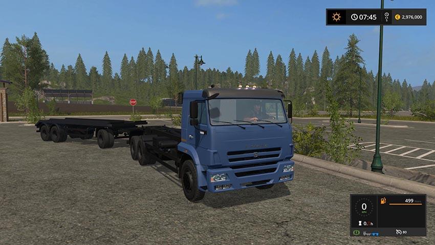 Kamaz 658667 + Trailer T83090 v 1.0