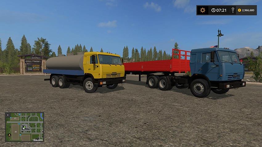 Kamaz Truck Pack v 1.8