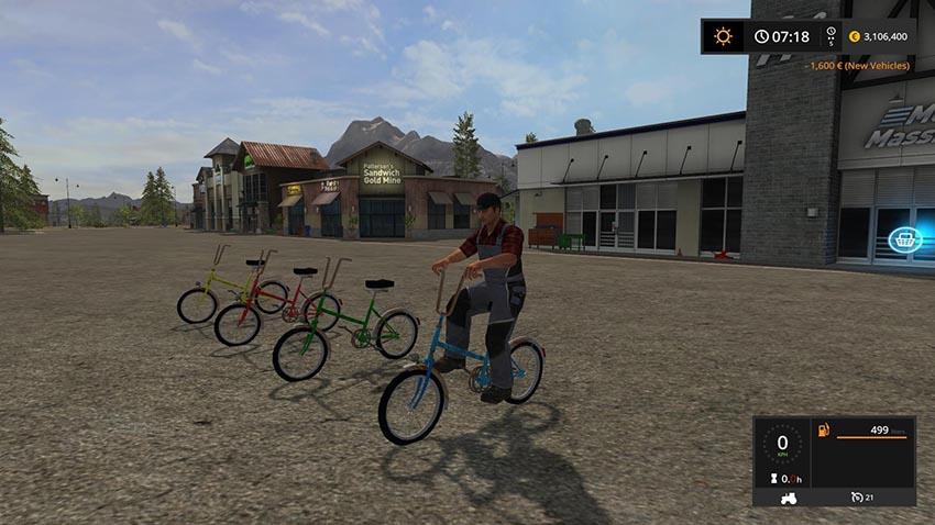 Kemping bicycle v 1.0