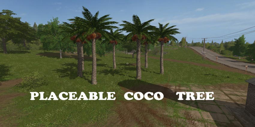 Placeable Coco Tree V 1.0