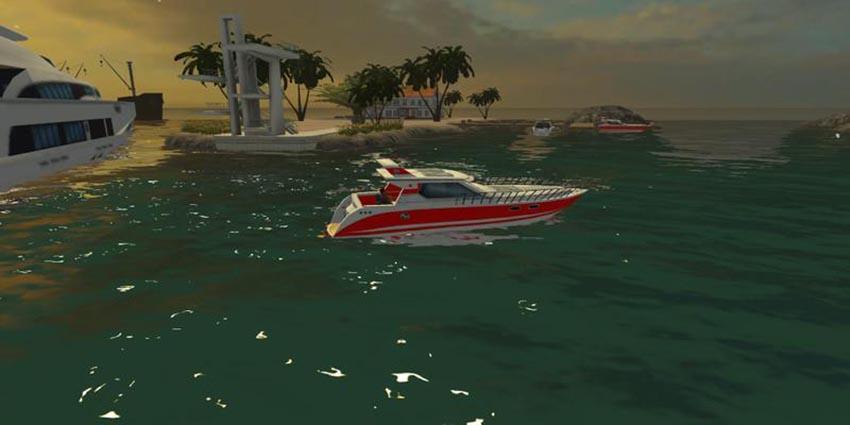 Sport boat Beta v 1.0