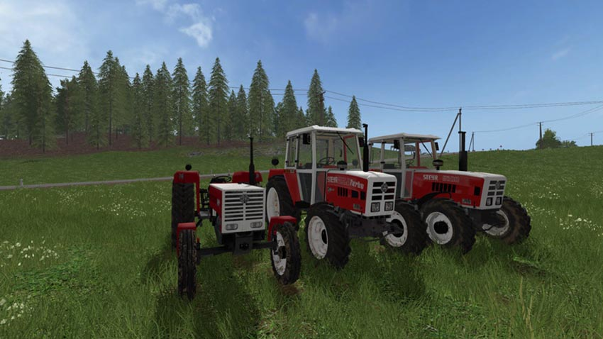 Steyr Tractor Collection V 1.0