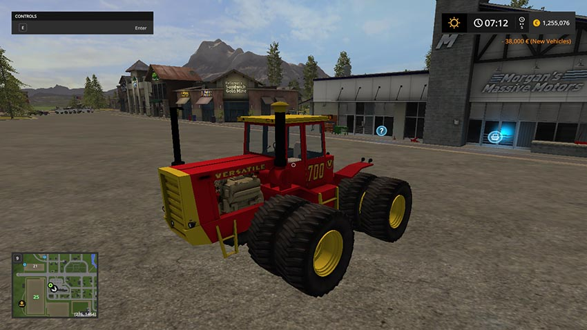 Versatile 8cyl Articulated 4WD v 1.0