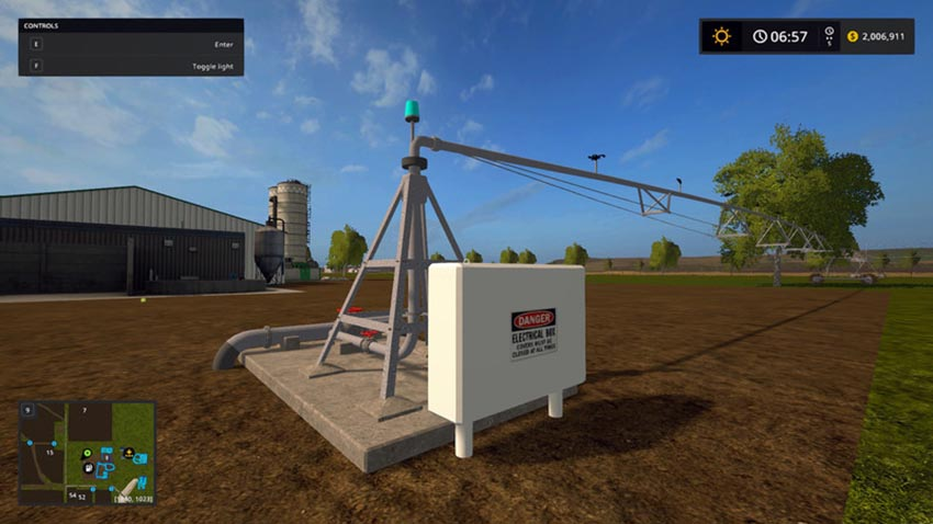 Pivot irrigation V 1.0