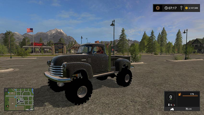 1950 Chevy 4x4 Pickup Truck v 1.0