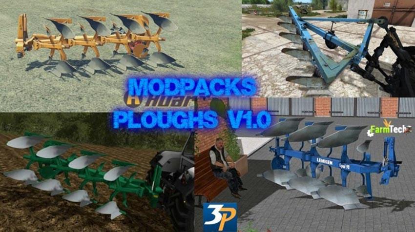 MOD PACKS PLOUGHS V 1.0