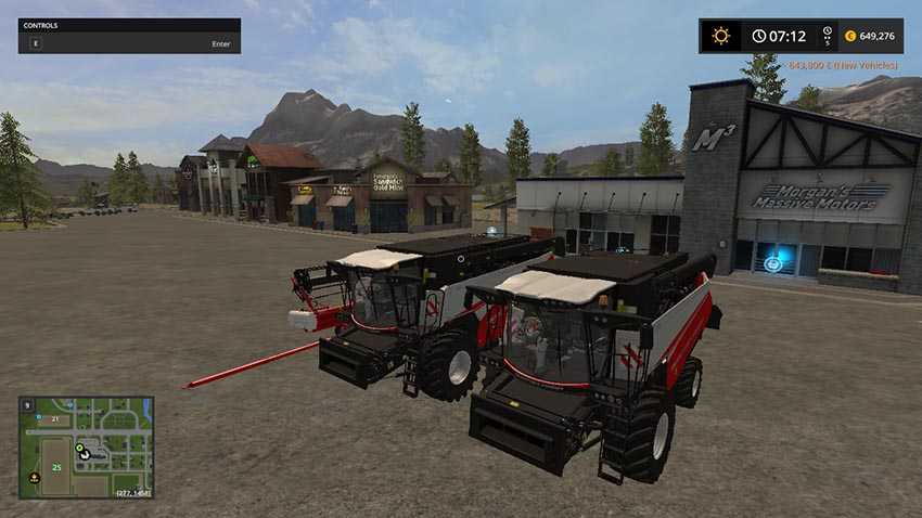 Rostselmash RSM-161 v 1.0