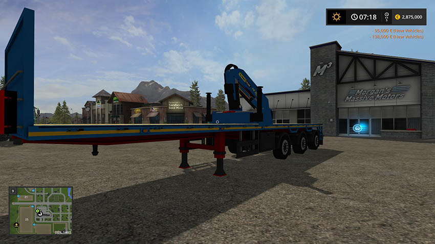 Royen Flatbed trailer v 1.0