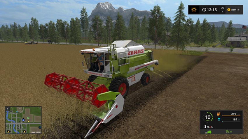 Claas C540 folding cutter V 1.0