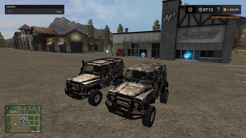 Landrover Defender v 1.0