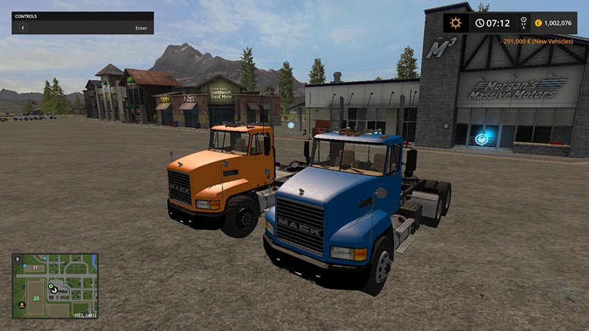 Mack pinnacle CH V 1.0