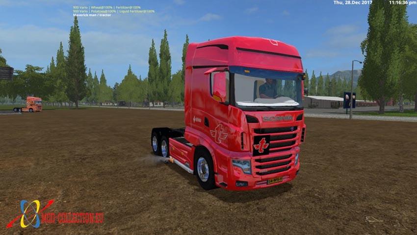 Scania R700 Tielbeke collection V 2.2