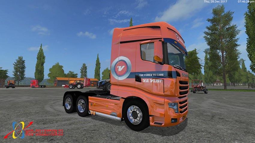Scania R700 vd Vlist Collection v 2.1