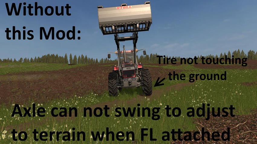 Swinging Axle with Frontloader v 1.0