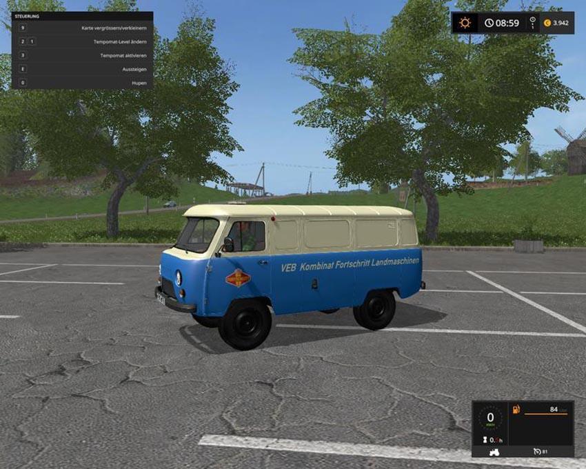 UAZ service vehicle v 1.0