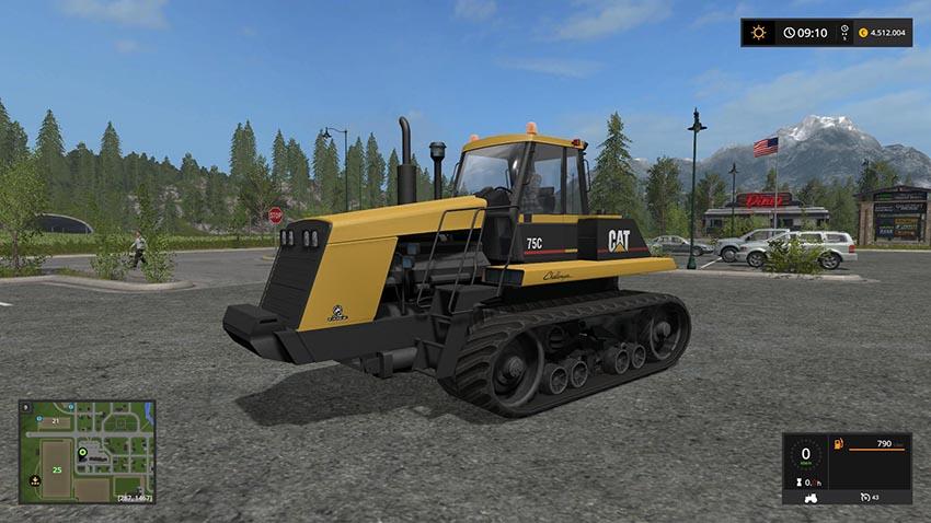 Caterpillar 75C v 1.1