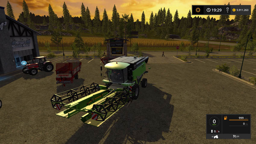 Claas C960 Deutz Folding Cutter 7545RTS V 0.9