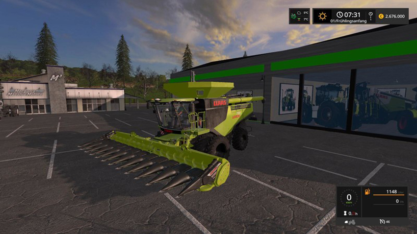 Claas Lexion 780 Package Limited Edition V 1.0