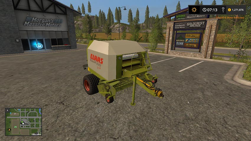 Claas Rollant 250 Rotocut v 2.2
