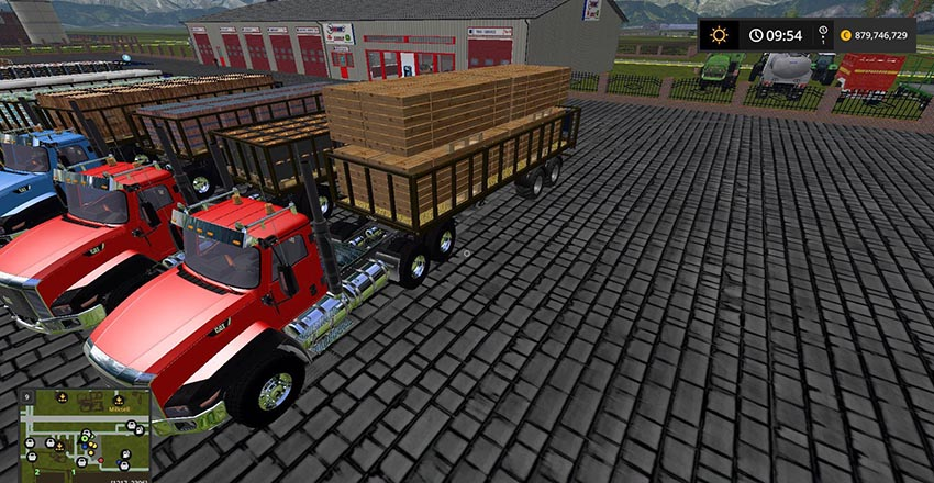 Fliegl DPW 180 pack v 1.1
