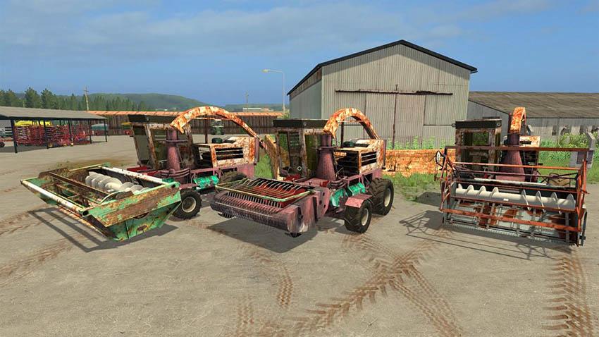 KSK-100 Forage Harvester v 1.0
