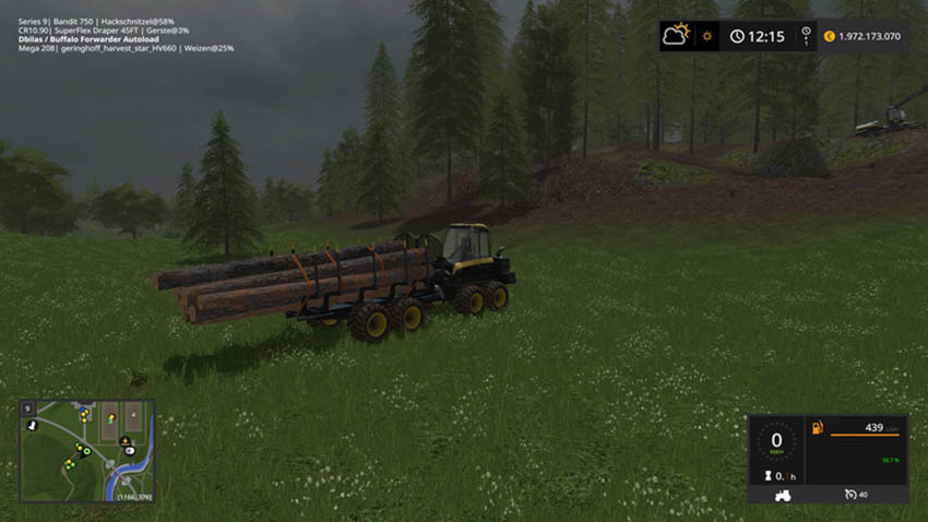 Ponsse Buffalo with autoload and loading aid V 1.0