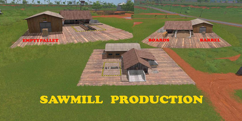 Sawmill Production v 1.0