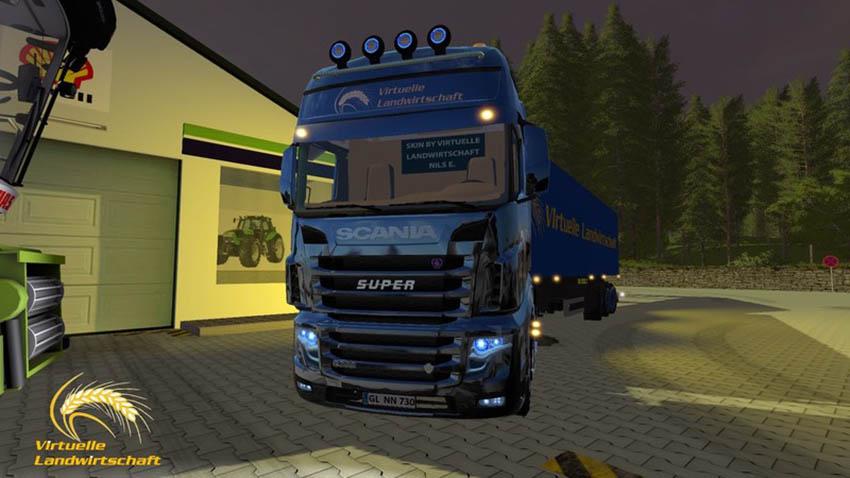 Scania R730 Virtual Agriculture V 1.0