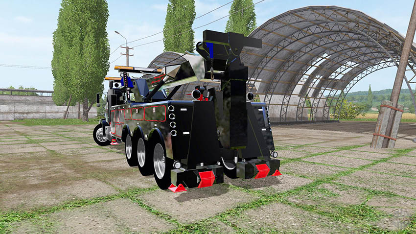 Western Star 4900 rotator heavy wrecker v 1.0