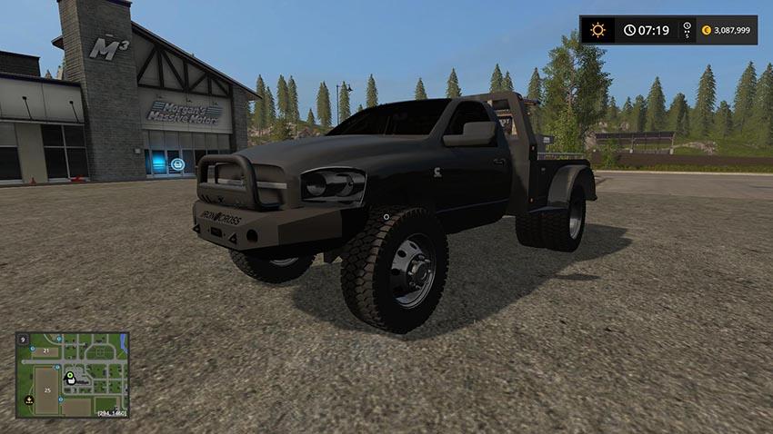 2008 Dodge Ram Flatbed edit v 1.0