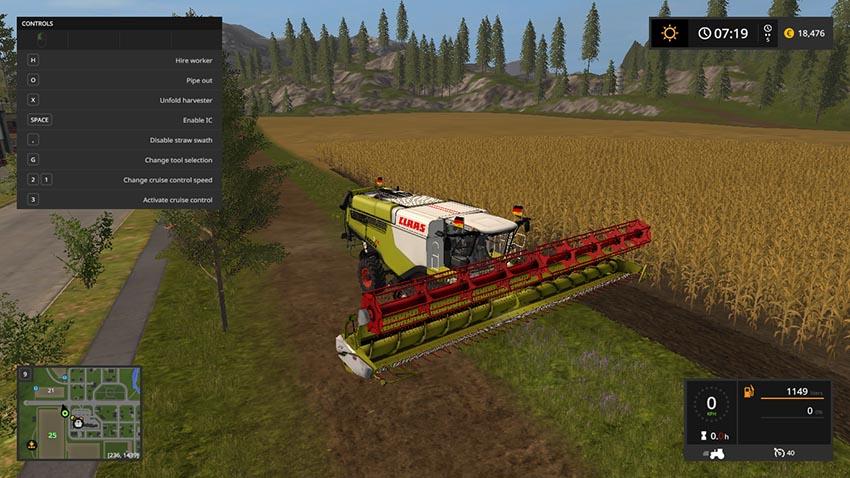 CLAAS LEXION 780 TT v 1.0