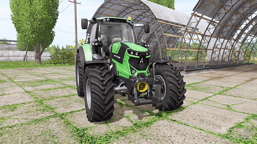 Deutz-Fahr Agrotron 6185 TTV v 1.0