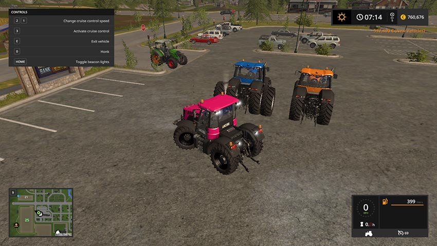 JCB tractor pack