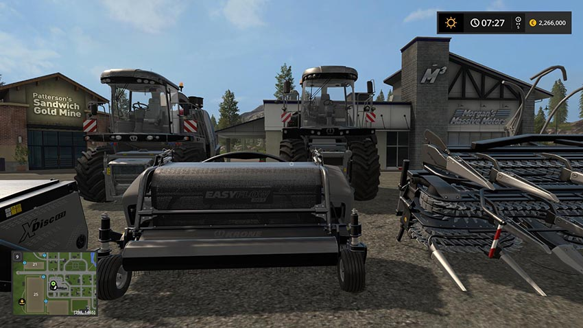 Krone BiG X BLACKBEAUTY Pack v 1.0