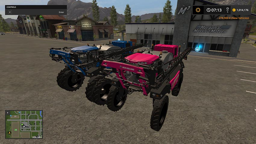 New Holland SP400 sprayer pack v 1.0