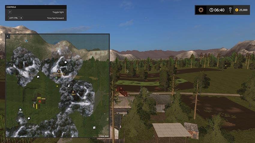 Podkarpacie Map v 2.1