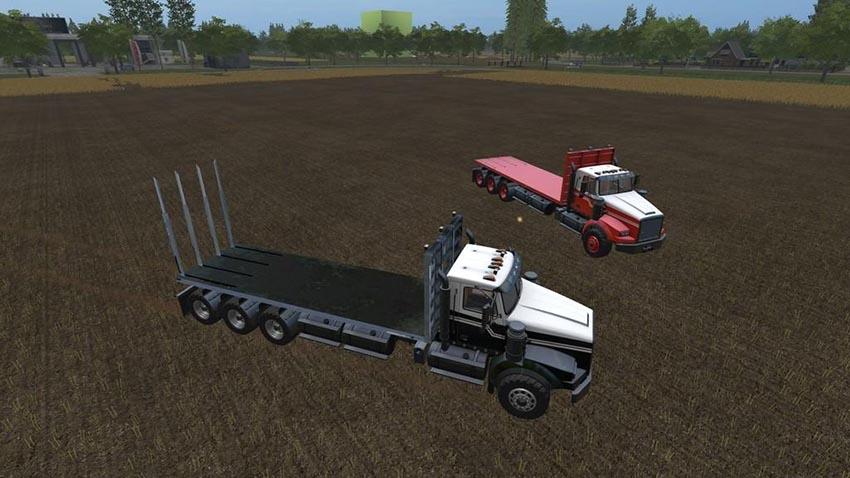 SX 210 Twinstar Bale Truck v 1.0