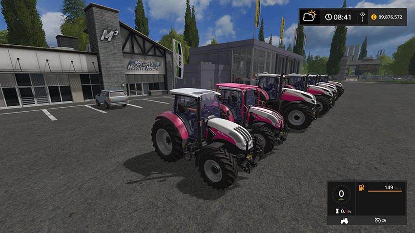 Steyr Tractors