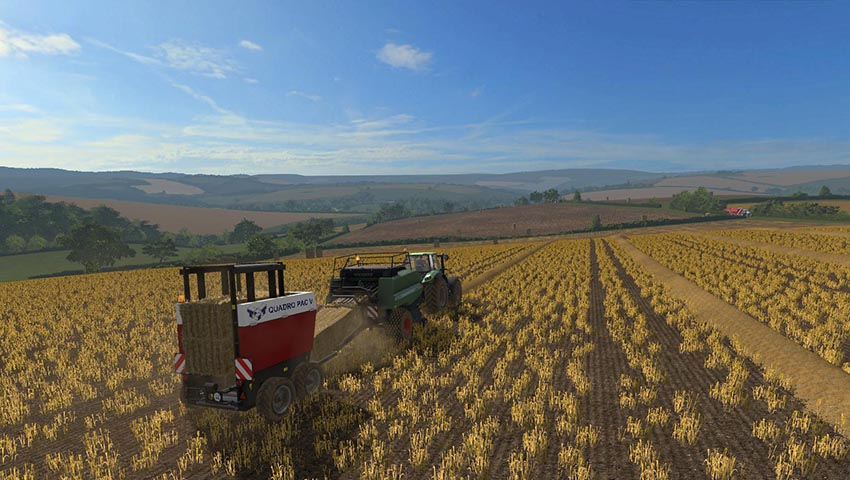 Straw to match the bales v 1.0