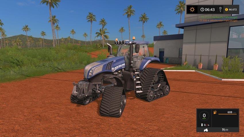 T8 Blue Power V Crawler