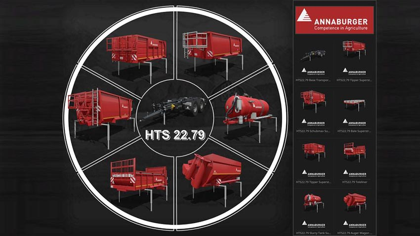 Annaburger HTS 22.79 Base Transporter v 1.1