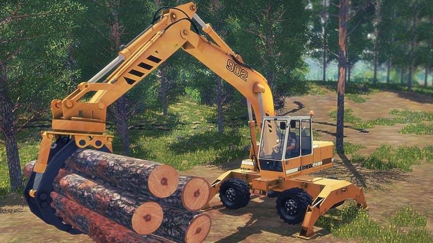 Excavator Liebherr 902 Pack v 1.0.0.1
