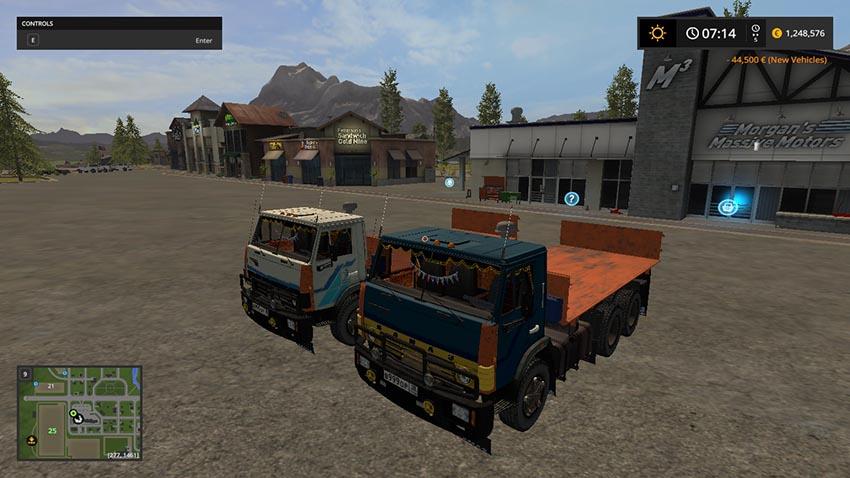 KAMAZ 5320 Collective v 1.2