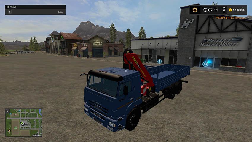 KAMAZ 65117 KMU v 1.0