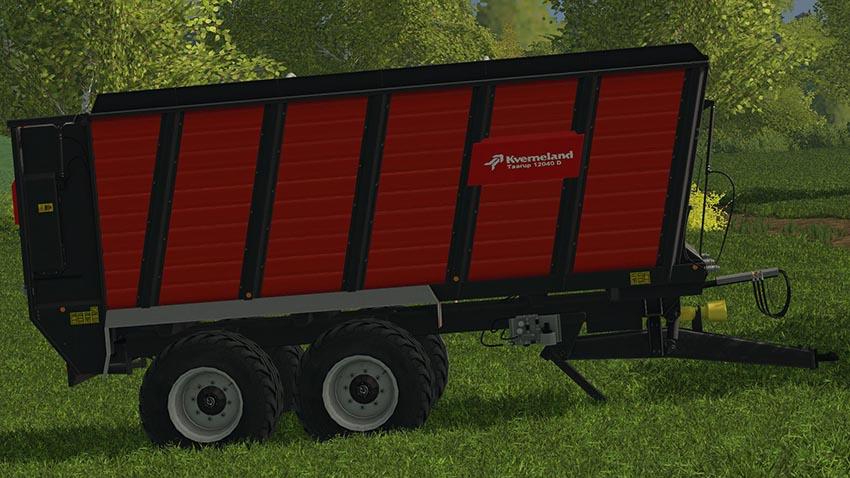 Kverneland silo trailer v 1.0